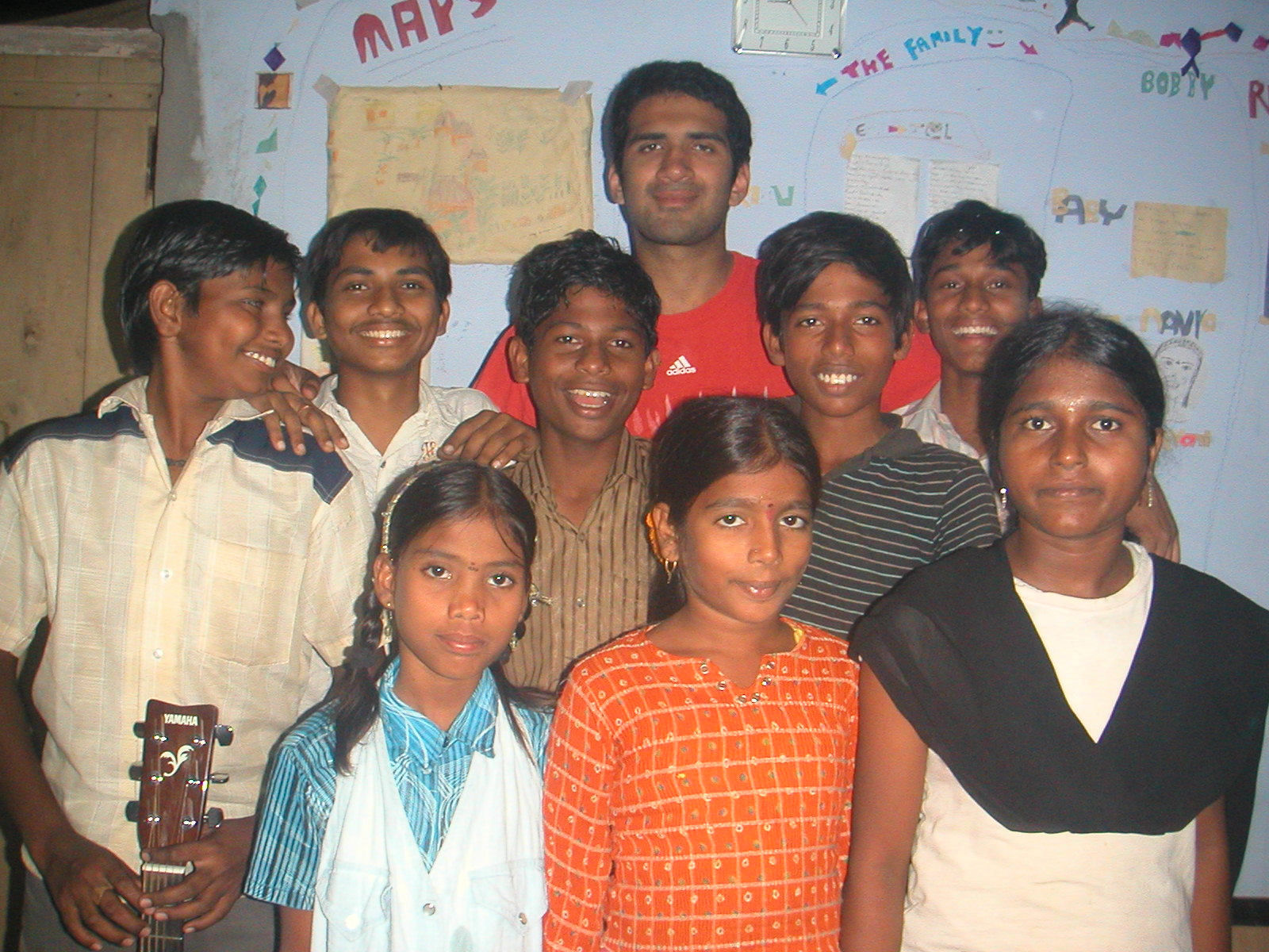 Amit with the Children
